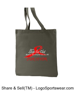 Survivor Recycled Cotton Everyday Tote Design Zoom